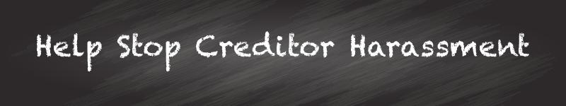 help stop creditor harassment evansville bankruptcy attorney